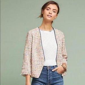 NWOT Anthropologie Samantha Dru tweed blazer